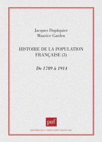 Histoire population française - tome 3