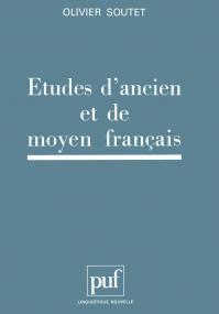 Études d'ancien et de moyen français