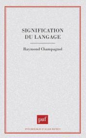Signification du langage
