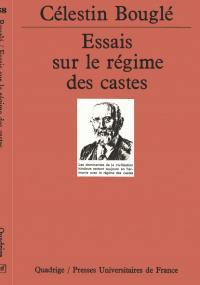 Essais sur le régime des castes