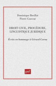 Droit civil (hommage a Gérard Cornu)