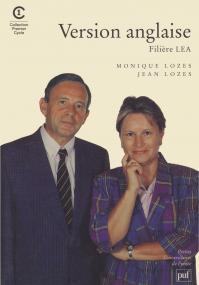 Version anglaise, filière LEA
