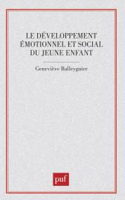 Le développement émotionnel et social du jeune enfant