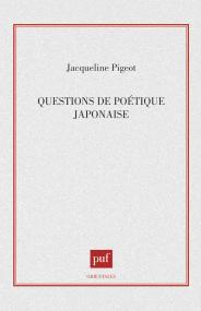 Questions de poétique japonaise