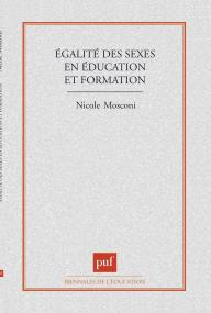 Égalité des sexes en éducation et formation