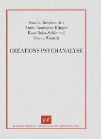 Créations, psychanalyse
