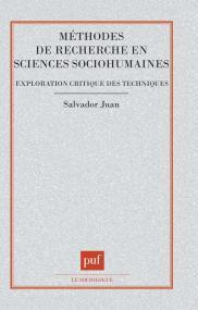 Méthodes de recherche en sciences sociohumaines
