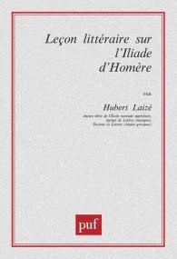 Leçon littéraire sur l'« Iliade » d'Homère