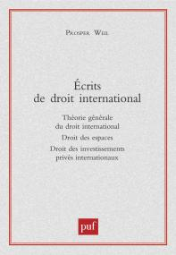 Écrits de droit international