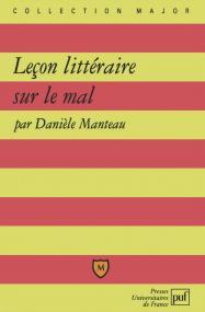 Leçon littéraire sur le mal