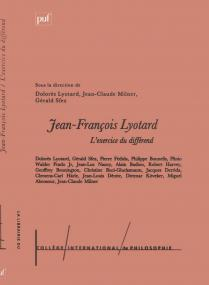 Jean-François Lyotard : l'exercice du différend