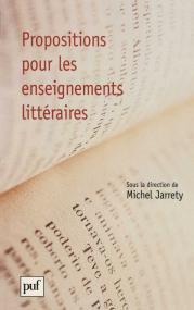 Propositions pour les enseignements littéraires