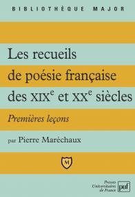 Les recueils de poésie française des XIX et XXe siècles