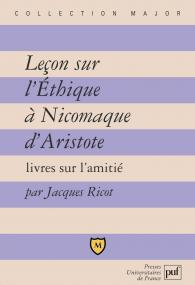 Leçon sur l'Éthique à Nicomaque d'Aristote