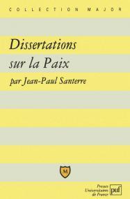 Dissertations sur la Paix