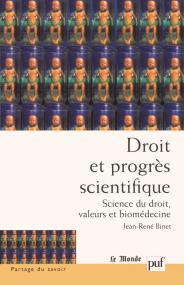 Droit et progrès scientifique