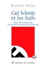 Carl Schmitt et les Juifs