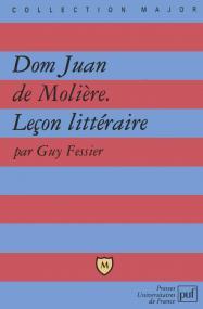 Dom Juan de Molière. Leçon littéraire