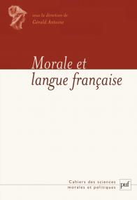 Morale et langue française