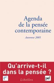 Agenda de la pensée contemporaine, automne 2005