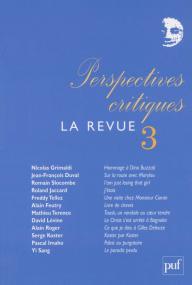Perspectives critiques : la Revue 3