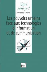 Les pouvoirs urbains face aux technologies d'information et de communication