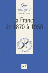 La France de 1870 à 1958