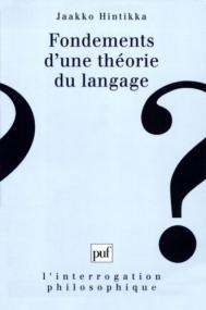 Fondements d'une théorie du langage