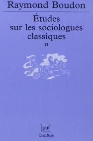 Études sur les sociologues classiques, II