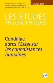 Les Etudes philosophiques 2019, n°1