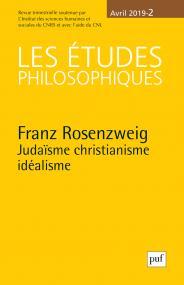 Les études philosophiques, 2019-2