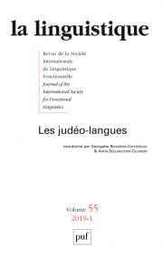 La  Linguistique, 2019-1