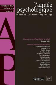 L'année psychologique 119-3