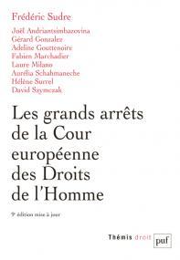 Les grands arrêts de la Cour européenne des droits de l'homme