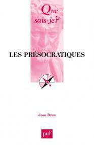 Les présocratiques