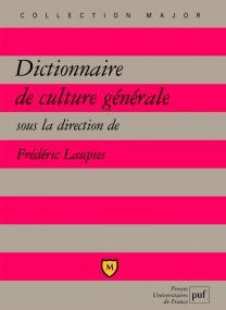 Dictionnaire de culture générale