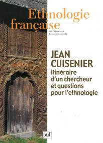 Ethnologie française 2007 Hors Série